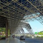 Здание аэропорта города Сочи.