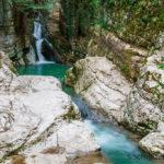 Агурские водопады. Хоста.