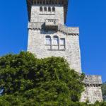 Здание смотровой башни на горе Ахун.
