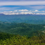 Гора Ахун. Хоста. Вид со смотровой башни.