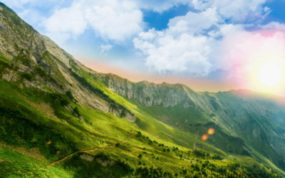Красная Поляна. Горы. Лето.