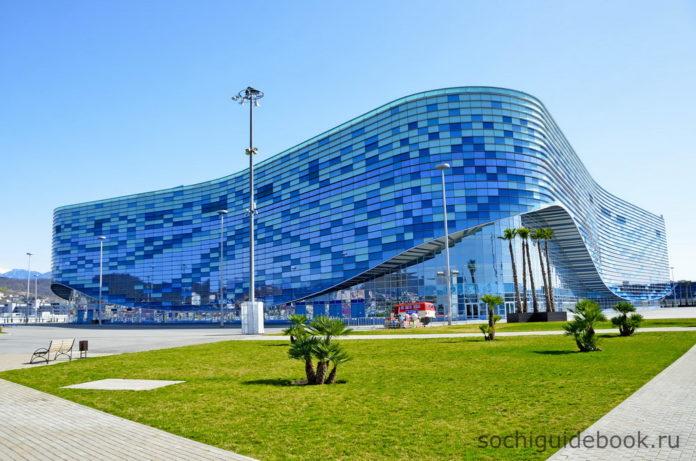Олимпийский Парк. Здание ледового дворца спорта