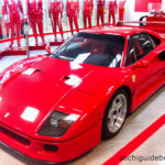 """""""Сочи Автодром"""". Музей. Выставочный экспонат - настоящий красный Ferrari."""