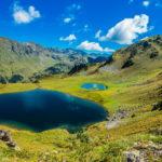 Одно из горных озер. Абхазия.