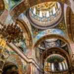 Новоафонский монастырь. Пантелеймоновский собор внутри.